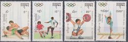 Cambodge Cambodia JO Barcelone 1992 Perf  ** MNH - Zomer 1992: Barcelona