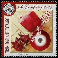 Trinidad & Tobago (2013) - Set -  /  Flowers - Fleurs - Sorrel Drink - World Food Day - FAO - Altri