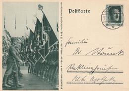 Ganzsache Deutsches Reich Propaganda Ochtrup 27.9.1937 - Gebruikt