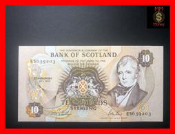 SCOTLAND  10 £  7.5.1992  P. 117   Bank Of Scotland   First Date    XF \ AU - 10 Pounds