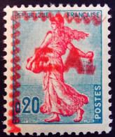 Algérie Algeria 1962 Semeuse De Piel Yvert 1233 * MH Surcharge Rocher Noir E.A. Overprinted - Unused Stamps