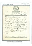 Persia - Persien - Iran - Middle East 1910;  Telegram From ARDESTAN To ISFAHAN,  8. Muharram 1328 - Irán