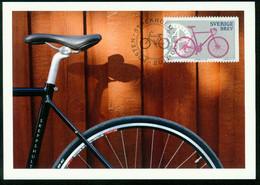Mk Sweden Maximum Card 2011 MiNr 2800   Bicycles. City Bicycle - Cartes-maximum (CM)