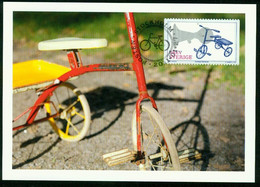 Mk Sweden Maximum Card 2011 MiNr 2801   Bicycles. Child's Tricycle - Cartes-maximum (CM)
