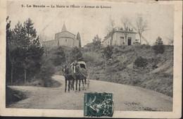 CPA 11 Aude La Bezole La Mairie Et L'école Avenue De Limoux - Other Municipalities