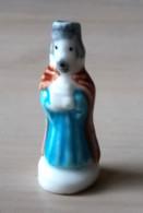 Fève Roi Mage Balthazar - Santon Crèche Nativité Arguydal 2004 - Santons