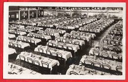 ISLE OF MAN   DOUGLAS CUNNINGHAM CAMP   DINING ROOM COLLISTER   RP  Pu 1924 - Isola Di Man (dell'uomo)