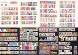Ethiopia 1894-2000 Big Collection Of Mainly Used O, Some MNH ** Stamps, Many Better Issues, High Cv >600€ - Etiopía