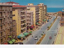 SOTTOMARINA LIDO -VENEZIA-INSEGNA =SALI E TABACCHI=VIALE MEDITERRANEO-CARTOLINA VIAGGIATA IL 1-6-1981 - Venezia