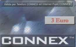PHONE CARD PROTOTIPO CONNEX 3 EURO (E77.12.5 - Tests & Servicios
