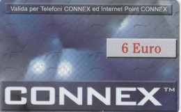 PHONE CARD PROTOTIPO CONNEX 6 EURO (E77.12.4 - Tests & Servicios