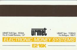 PHONE CARD PROTOTIPO URMET EMS (E77.13.8 - Tests & Servicios