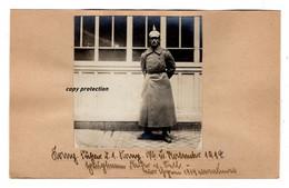Hauptmann Freiherr Von Sell, Kompagnie Führer Der 1. Kompagnie, 1914, Foto, Militär, WW1 - Krieg, Militär