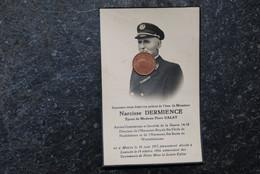 3935/Narcisse DERMIENCE Moircy Flore CALAY Anc Combattant 14/Directeur Harmonie S.Cécile Neufchâteau/Warmifontaine - Décès