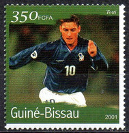 GUINEA-BISSAU - 1v - MNH - Francesco Totti Football Italy Italia Player Fußball Fútbol Soccer Calcio Futebol Voetbal - Andere