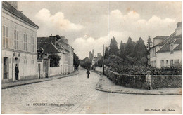 77 COUBERT - Route De Guignes - Autres Communes