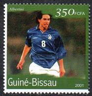 GUINEA-BISSAU - 1v - MNH - Demetrio Albertini Football Italy Italia Player Fußball Fútbol Soccer Calcio Voetbal Futebol - Andere
