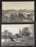 Chateau Du Loir - Vue Générale Et Le Loir à Banne - Chateau Du Loir