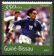 GUINEA-BISSAU - 1v - MNH - Filippo Inzaghi Football Italy Italia Player Fußball Fútbol Soccer Calcio Voetbal Futebol - Andere