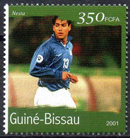 GUINEA-BISSAU - 1v - MNH - Alessandro Nesta Football Italy Italia Player Fußball Fútbol Soccer Calcio Voetbal Futebol - Andere