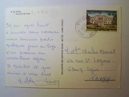 TOGO  - 1990 - République Togolaise - LOME - Sur Carte Postale - Togo (1960-...)