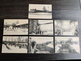 Charbonnages  Méricourt /  Courrières  / Près De Lens Catastrophe  1906 : 7 Cartes Postales - Lens