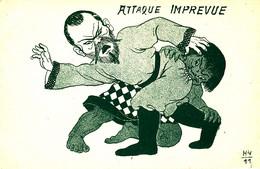 AS 1002 /  C P A -  HUMOUR   -  ATTAQUE IMPREVUE - Humorísticas