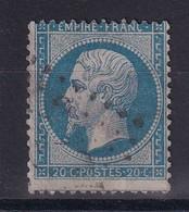 D 120 / NAPOLEON N° 22  OBL / VARIETE POINT MEDAILLON - 1862 Napoleon III