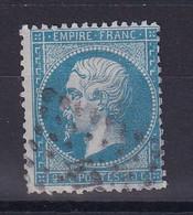 D 120 / NAPOLEON N° 22  OBL / VARIETE TRAIT MEDAILLON - 1862 Napoleon III