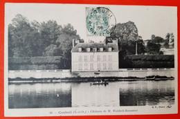 91 - Corbeil - Chateau De M. Waldeck Rousseau - Corbeil Essonnes