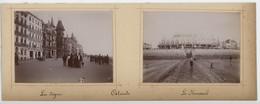 ° BELGIQUE ° OSTENDE ° Lot De 5 Photos ° Environ 1899 - 1900 ° - Luoghi