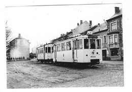 Ancienne Photographie Tramway VIELSALM LIERNEUX Superbe Plan - Vielsalm