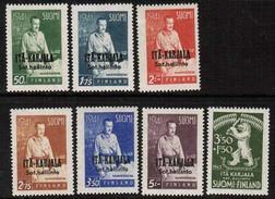 1941 Finland, Itä-Karjala (East Carelia) 22 - 28 **. - Emisiones Locales