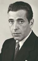 Humphrey Bogart  PHOTO POSTCARD - Artisti