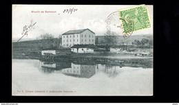 820-TURQUIE SAMSOUN-moulin Molen De SAMSOUN-cachet Pub ARSENE GAROPHALIDES Representation Importation Commission - Turchia