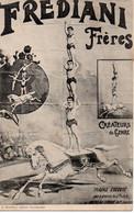 Cpa Frediani Freres, Créateurs Du Genre. - Circus