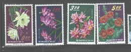 """TAIWAN,1964, """"CACTUS FLOWERS"""" #1386 - 1389  MNH - Nuevos"""