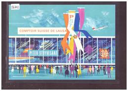 CARTE MODERNE - LAUSANNE - COMPTOIR SUISSE - PUBLICITE CIGARETTES PETER STUYVESANT - TB - VD Vaud