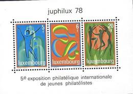 Luxembourg-Luxemburg - Timbres  1978 - JUPHILUX 78  MNH ** - Blokken & Velletjes