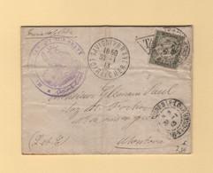 Service De La Police - Savigny Sur Braye - Loir Et Cher - 1913 - Lettre Taxee - 1921-1960: Modern Period