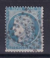D 124 / CERES N° 60 OBL / VARIETE FILET BAS - 1871-1875 Ceres