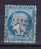 D 124 / CERES N° 60 OBL / VARIETE FILET HAUT - 1871-1875 Ceres