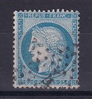 D 124 / CERES N° 60 OBL / VARIETE NC DE FRANC - 1871-1875 Ceres