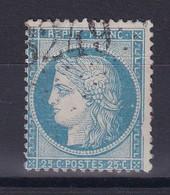 D 124 / CERES N° 60 OBL / VARIETE FILET DROIT - 1871-1875 Ceres