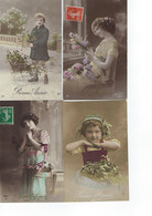 FRANCE- 10 CARTES - Fantasies - - Altri