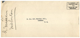 (HH 32) Canada - Postage Paid - Québec - Cartas