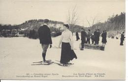 Les Sports D'Hiver Au Canada - Raquetteurs Au Mont Royal, Montréal, Québec, ND Photo #565 - Montreal
