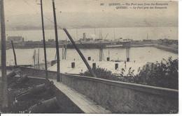 Vue Générale Du Port Prise Des Remparts, Québec, ND Photo #227 (21.101) - Québec - La Cité