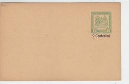 Ganzsache K.U.K FELDPOST 9 Centesimi* - Covers & Documents