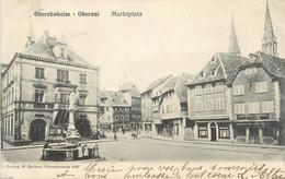 """CPA FRANCE 67 """"Obernai, Place Du Marché"""" - Obernai"""